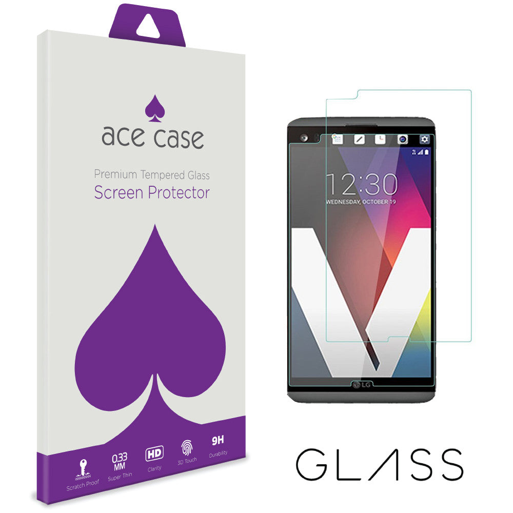 LG V20 Tempered Glass Screen Protector by Ace Case