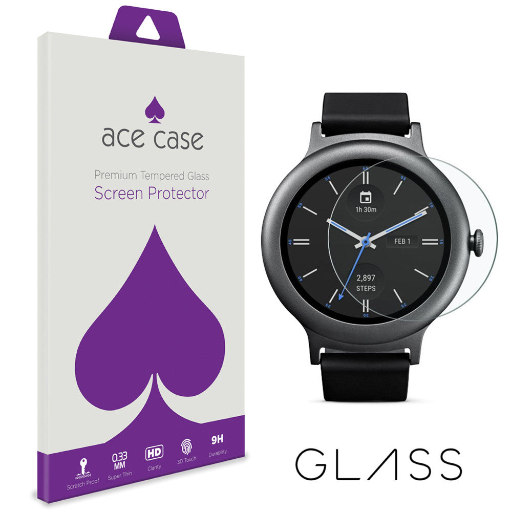 LG Watch Style Tempered Glass Screen Protector by Ace Case