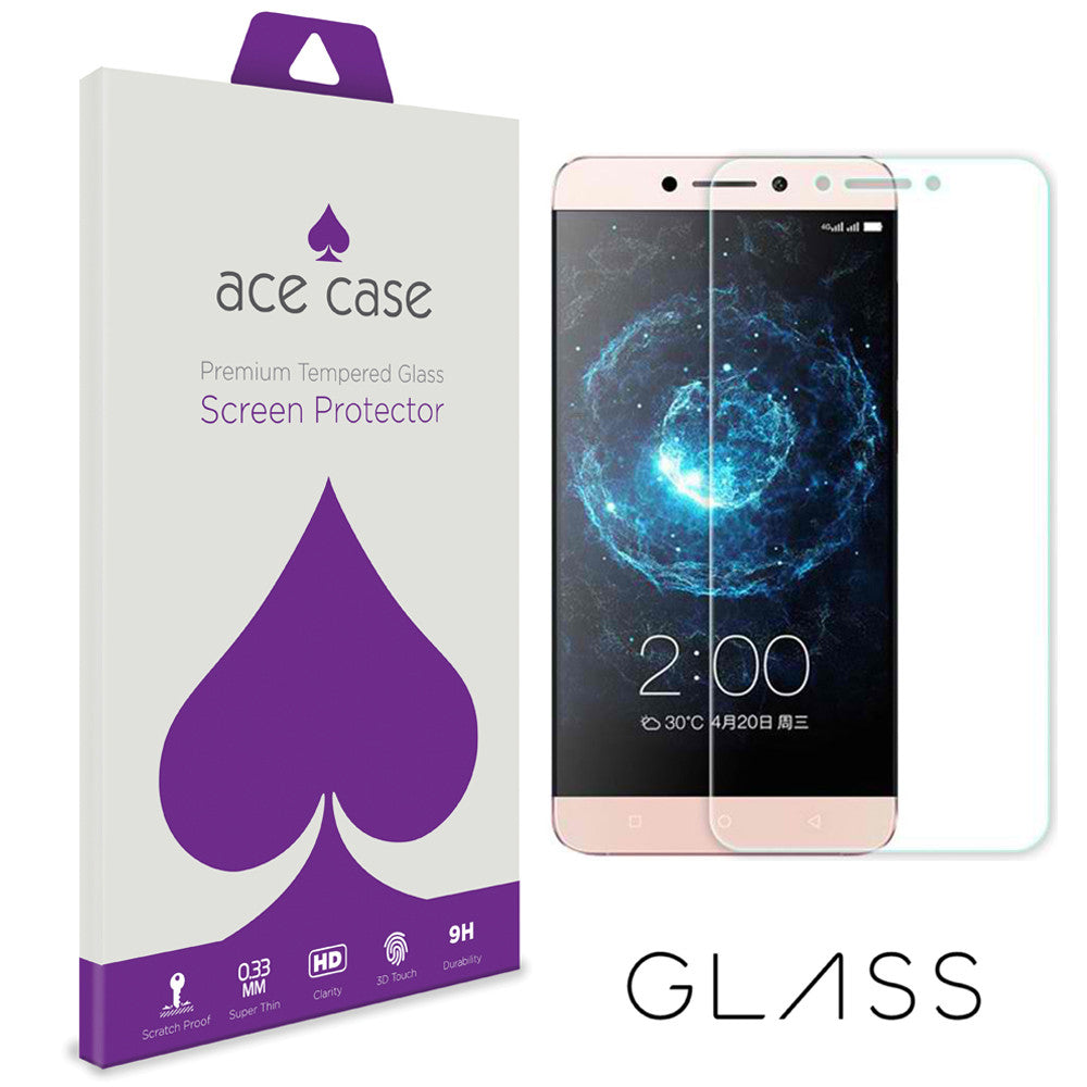 Le Pro 3 Tempered Glass Screen Protector by Ace Case