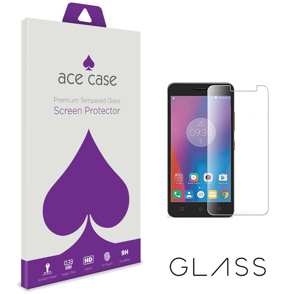 Lenovo K6 Tempered Glass Screen Protector by Ace Case