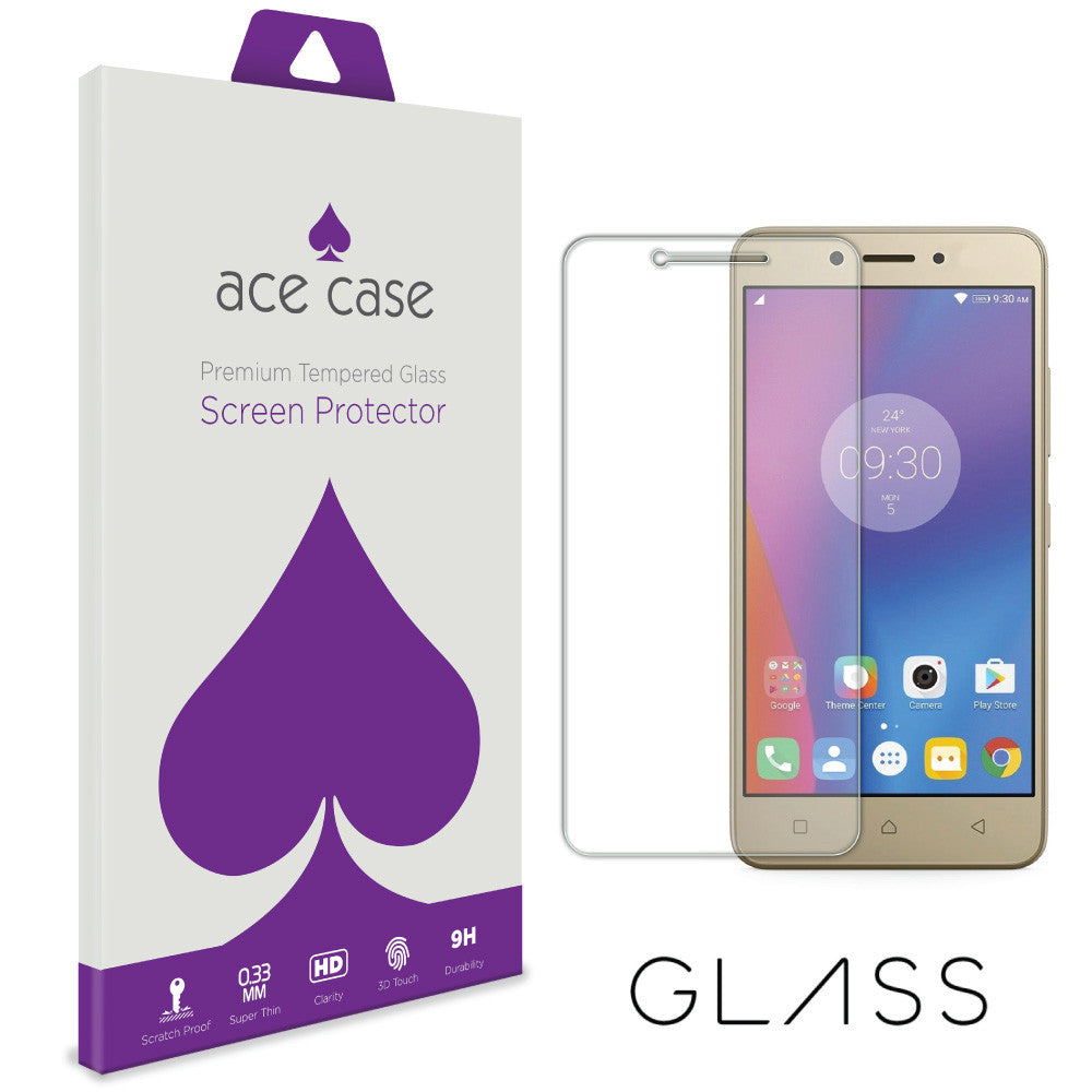 Lenovo K6 Note Tempered Glass Screen Protector by Ace Case