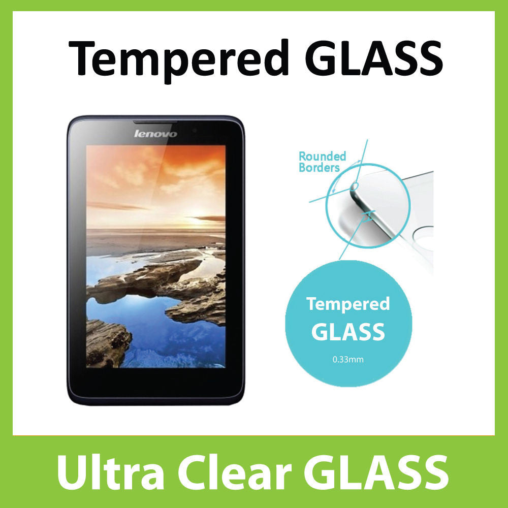 Lenovo A7-50 A3500 Tempered Glass Screen Protector by Ace Case