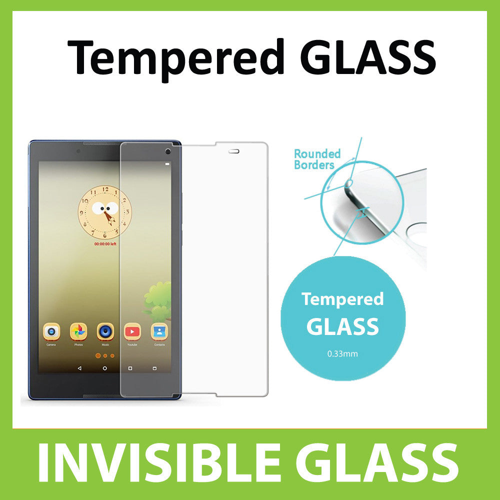Lenovo Tab3 8 Tempered Glass Screen Protector by Ace Case