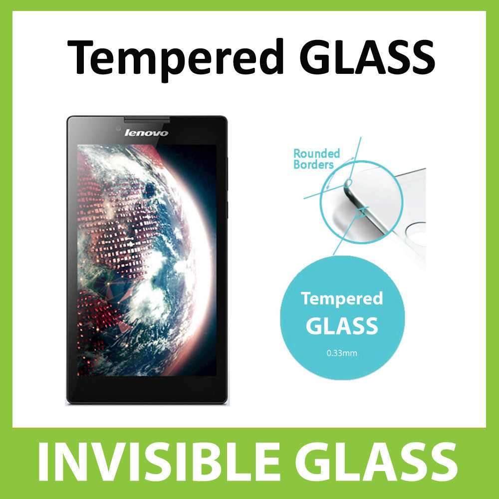 Lenovo Tab 2 A7-30 Tempered Glass Screen Protector by Ace Case