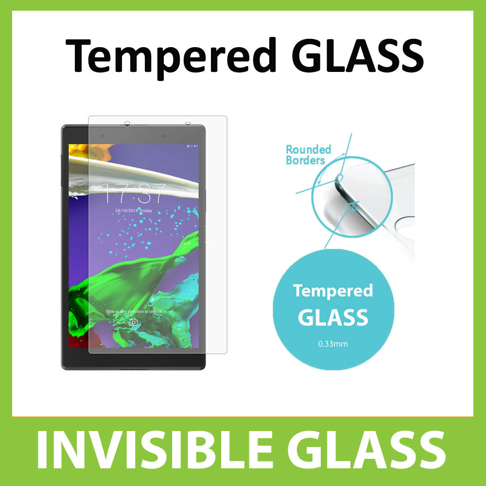 Lenovo Tab 4 8 Tempered Glass Screen Protector by Ace Case