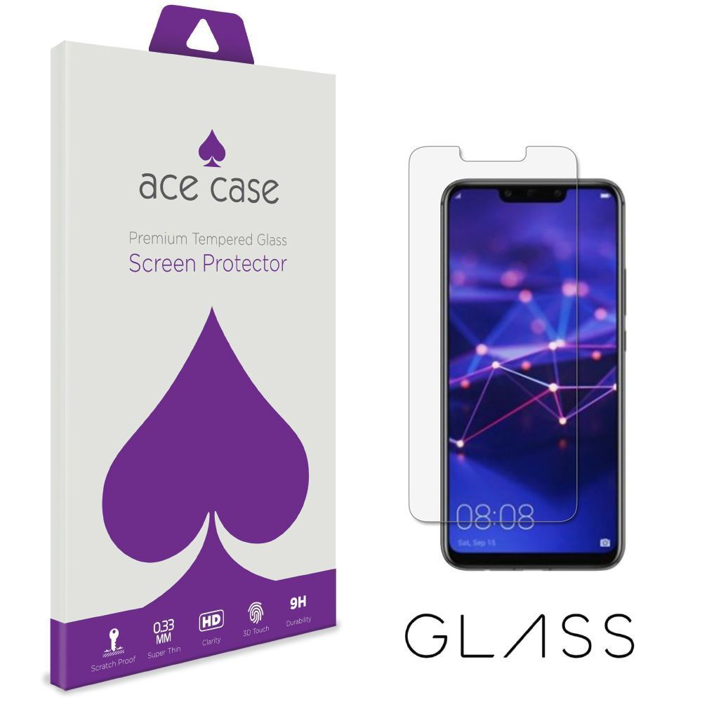 Huawei Mate 20 Lite Tempered Glass Screen Protector by Ace Case