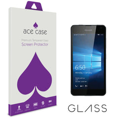 Microsoft Lumia 650 Tempered Glass Screen Protector by Ace Case