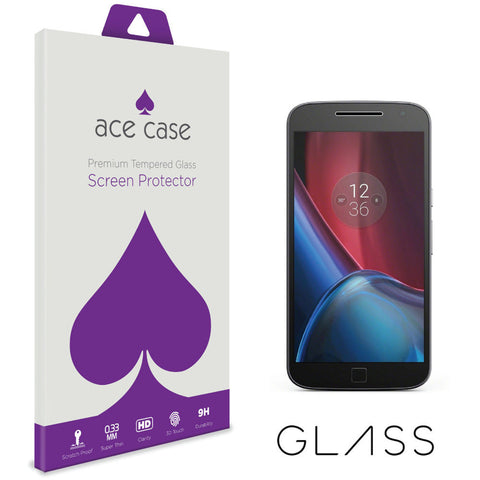 Motorola Moto G4 PLUS Tempered Glass Screen Protector by Ace Case