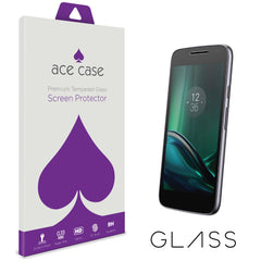 Motorola Moto G4 Play Tempered Glass Screen Protector by Ace Case