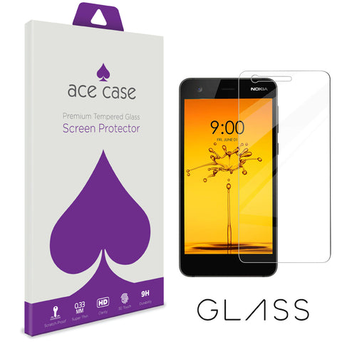 Nokia 3.1 Tempered Glass Screen Protector by Ace Case