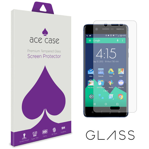 Nokia 5 Tempered Glass Screen Protector by Ace Case