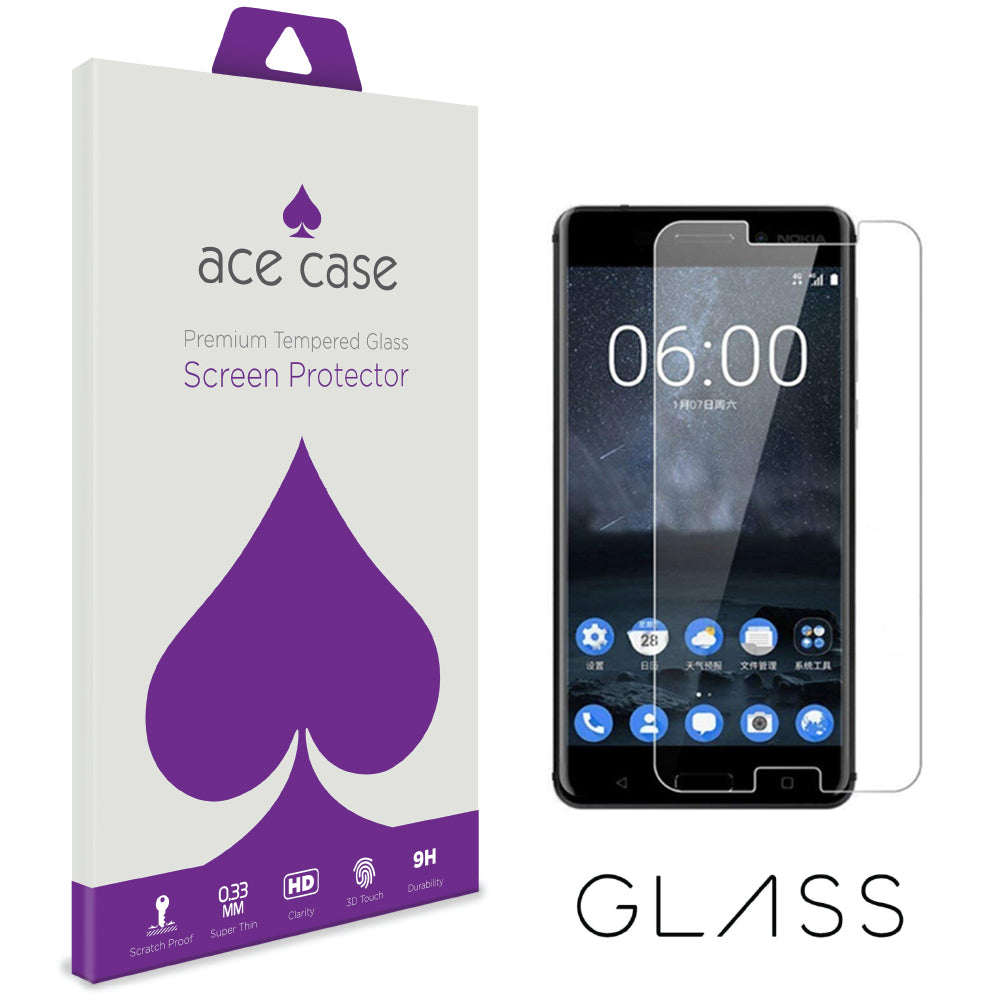 Nokia 9 Tempered Glass Screen Protector by Ace Case
