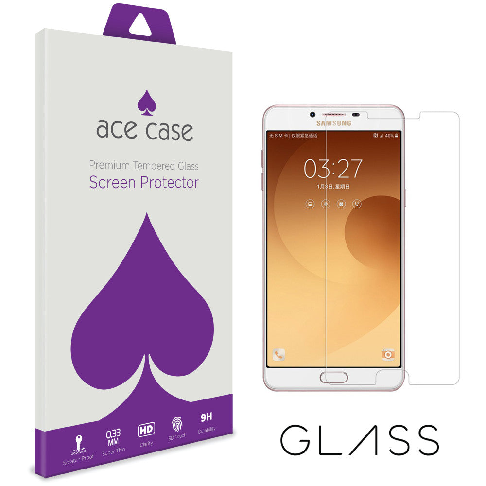 Samsung C9 Tempered Glass Screen Protector by Ace Case