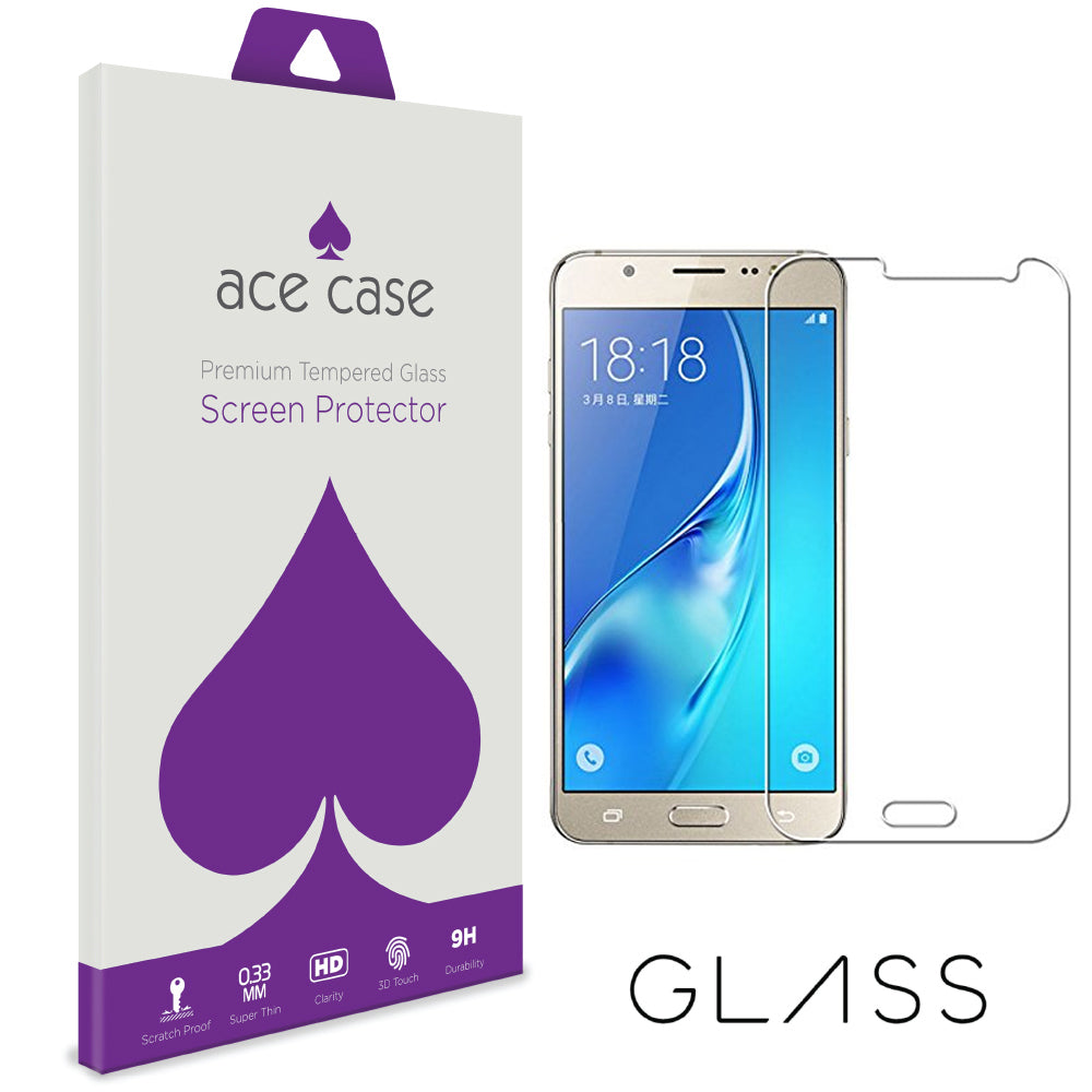 Samsung J3 2017 Tempered Glass Screen Protector by Ace Case