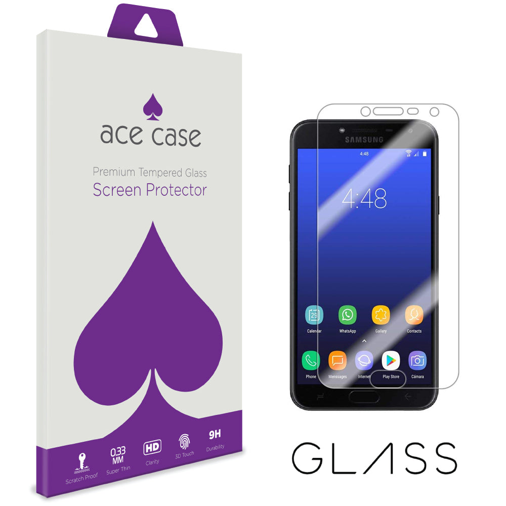 Samsung J4 2018 Tempered Glass Screen Protector by Ace Case
