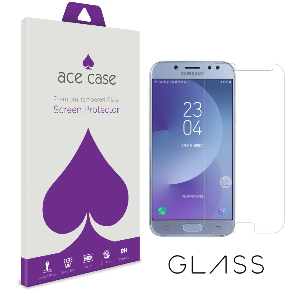 Samsung J5 2017 Tempered Glass Screen Protector by Ace Case