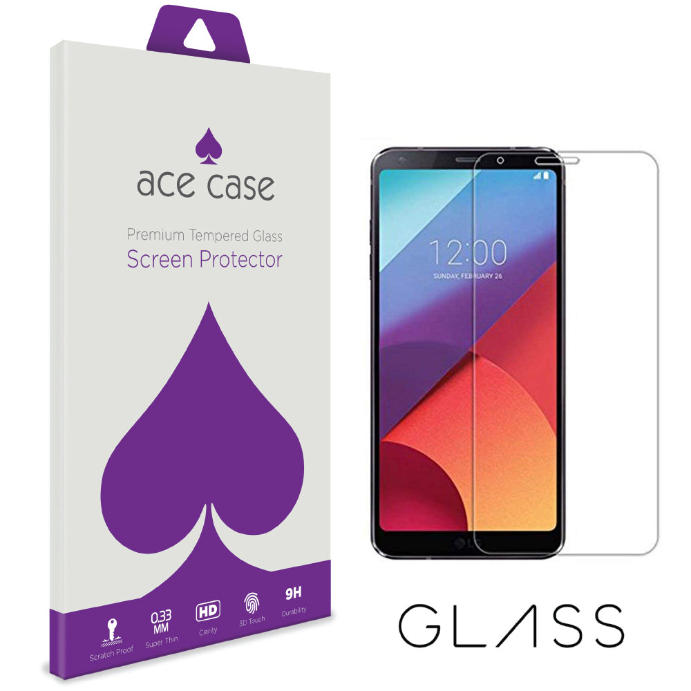 Samsung J8 2018 Tempered Glass Screen Protector by Ace Case