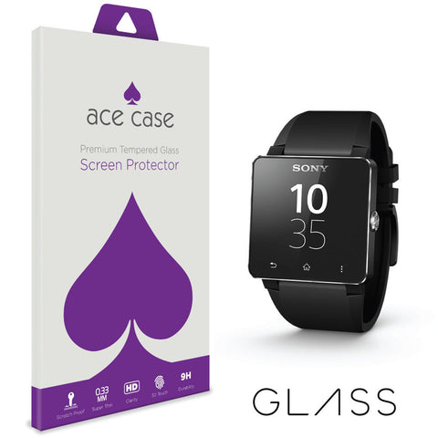 Sony 2 SW2 Tempered Glass Screen Protector by Ace Case