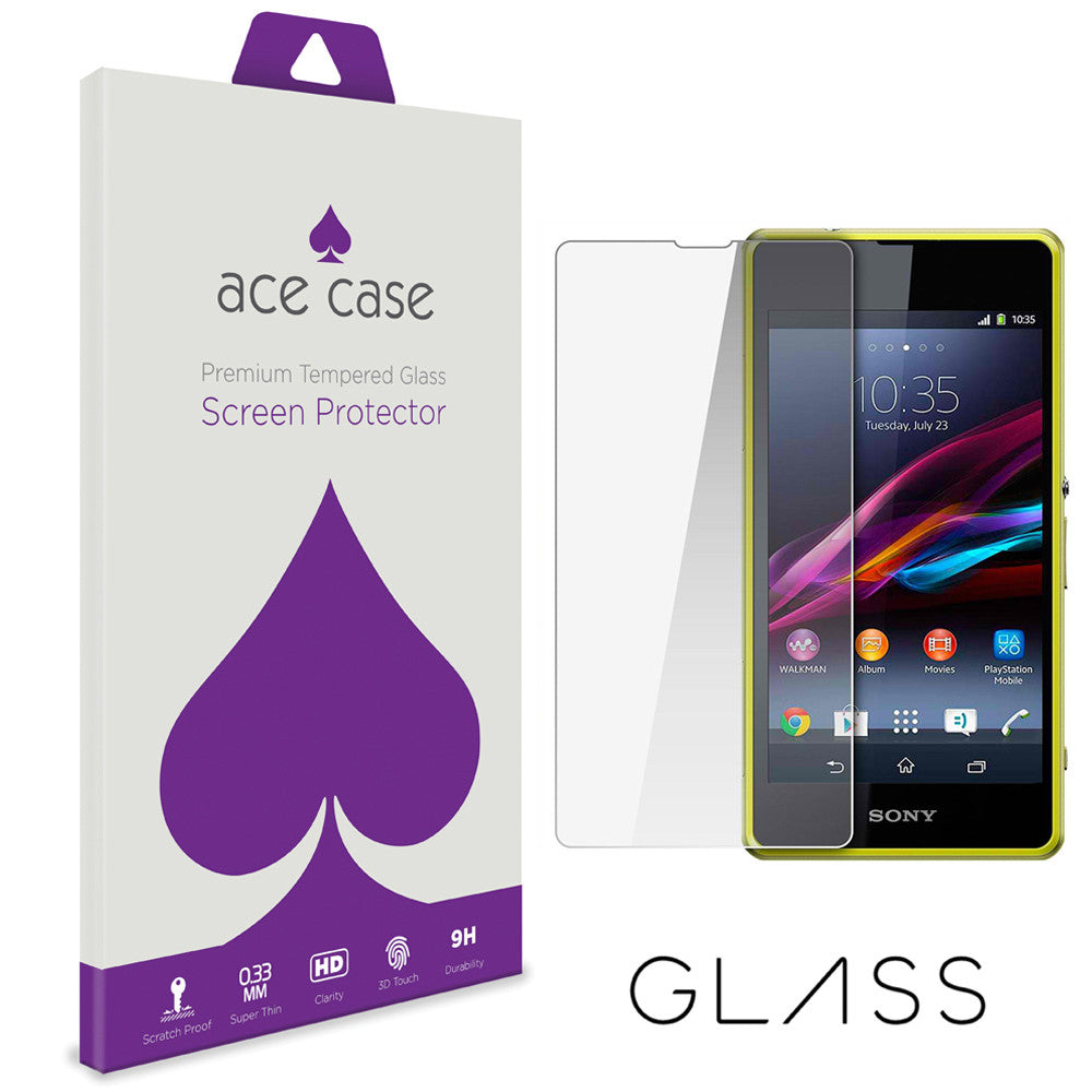 Sony Experia L1 Tempered Glass Screen Protector by Ace Case