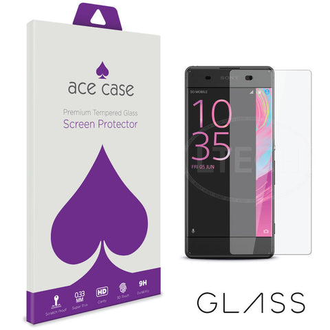 Sony Xperia XA Tempered Glass Screen Protector by Ace Case