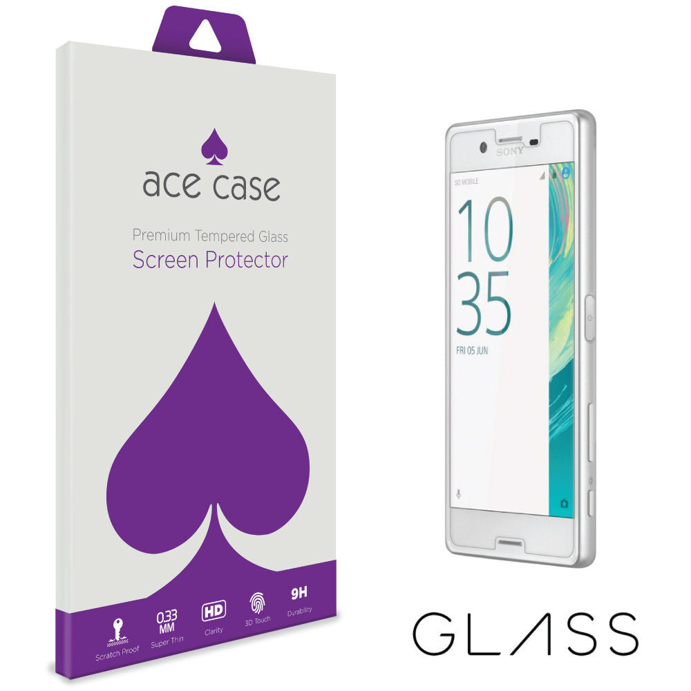 Sony Xperia X Tempered Glass Screen Protector by Ace Case