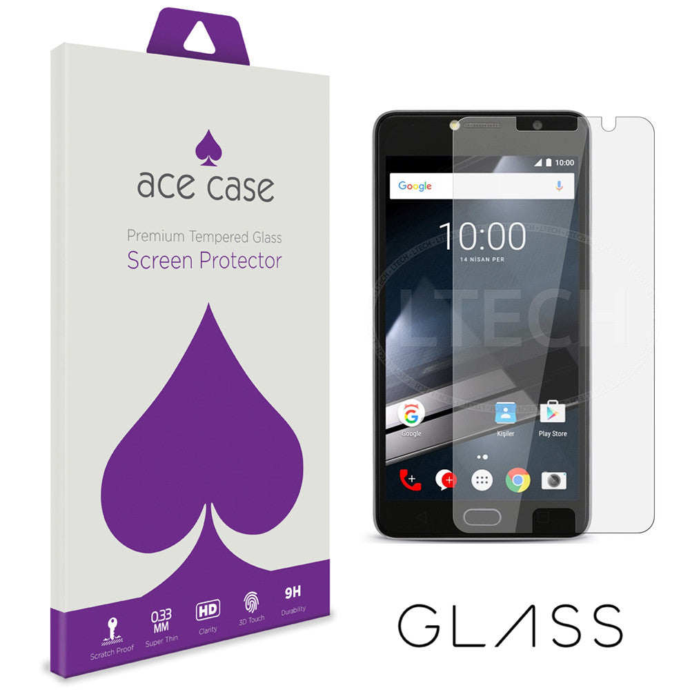 Vodafone Smart Ultra 7 Tempered Glass Screen Protector by Ace Case