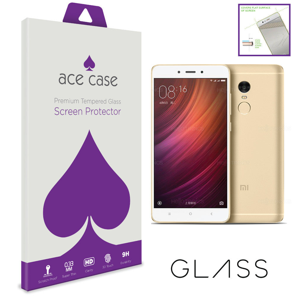Xiaomi Redmi Note 4X Tempered Glass Screen Protector by Ace Case