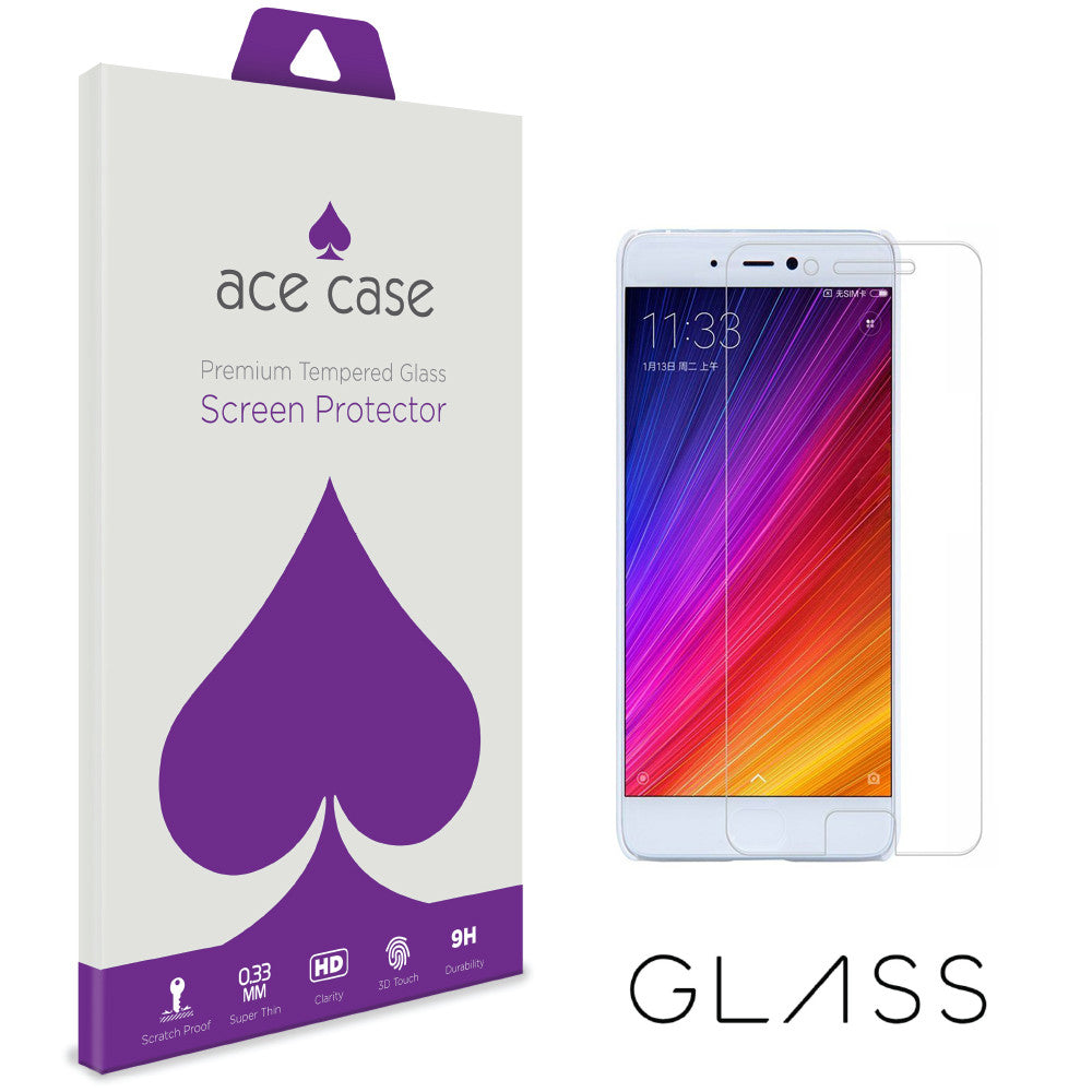 Xiaomi Mi 5S Tempered Glass Screen Protector by Ace Case