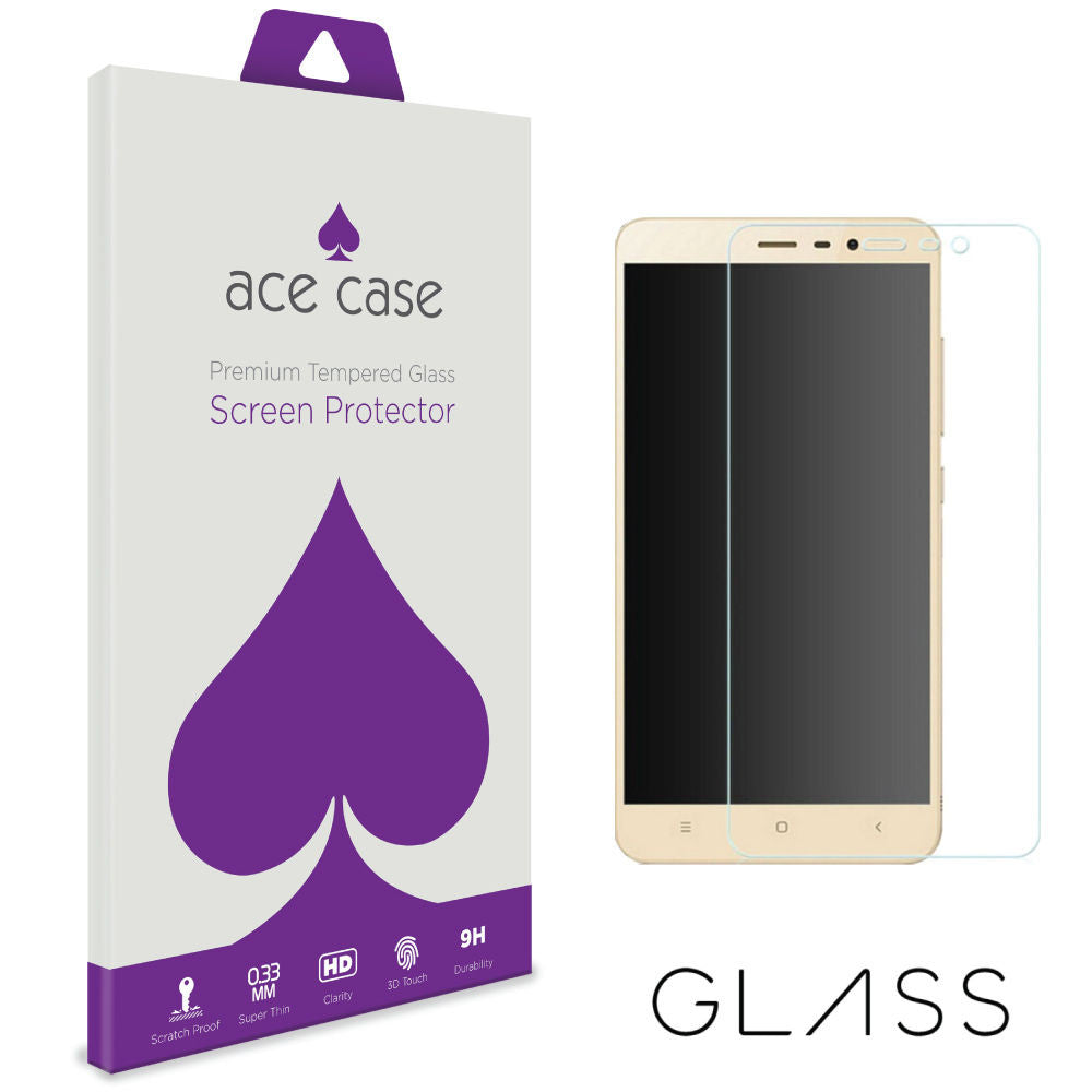 Xiaomi Redmi Note 3 Tempered Glass Screen Protector by Ace Case