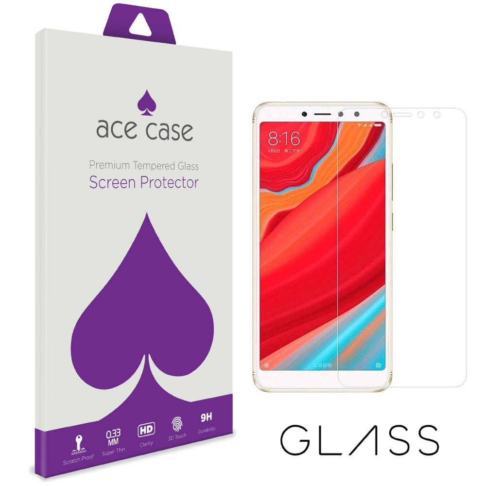 Xiaomi Redmi S2 Tempered Glass Screen Protector by Ace Case