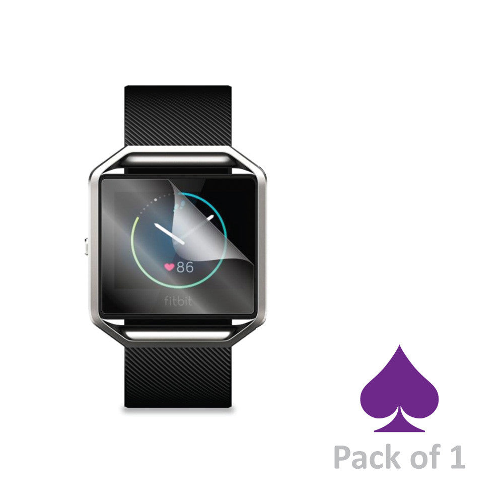 Fitbit Blaze Screen Protector by Ace Case - Pack of 1