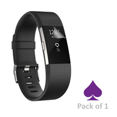 Fitbit Charge 2 Screen Protector by Ace Case - Pack of 1