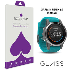 Garmin Fenix 5S (42mm version) Tempered Glass Screen Protector by Ace Case