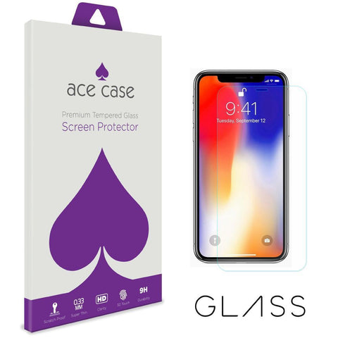 Apple iPhone XR Tempered Glass Screen Protector by Ace Case