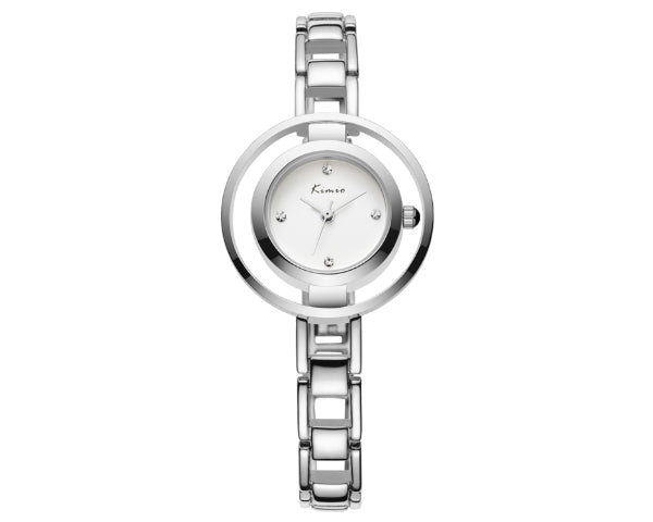 Kimio Double circle Luxury Ladies watch