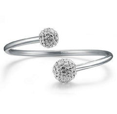 Shamballa Crystal Ball Bangle.