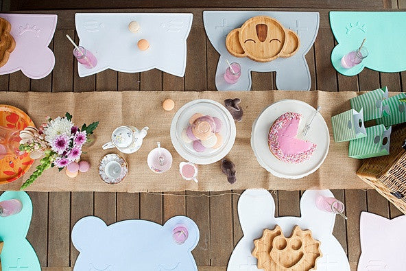 The sweetest little tea party