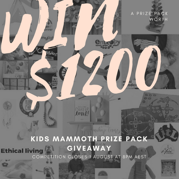 Win a $1200 prize pack