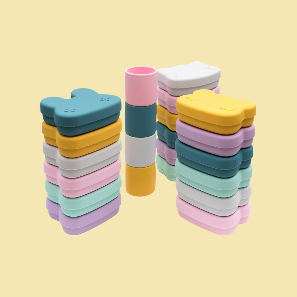 Silicone Snack Boxes by We Might Be Tiny