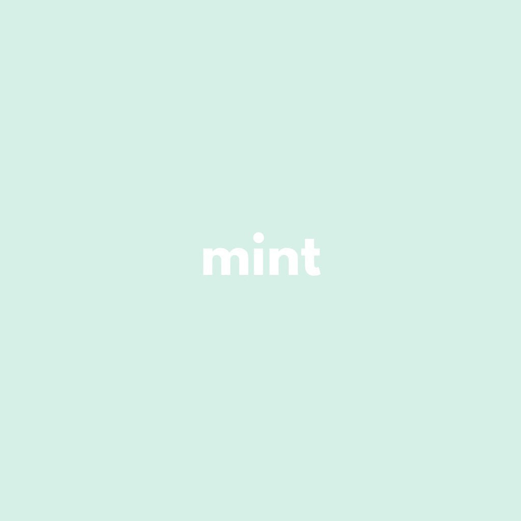 Minty green goodness
