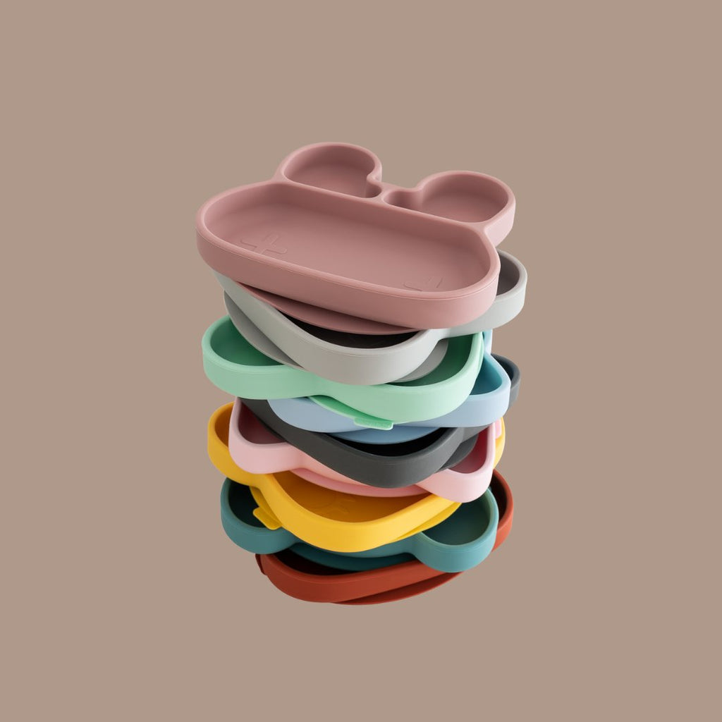 Beautiful Suction Plates for Kids by We Might Be Tiny