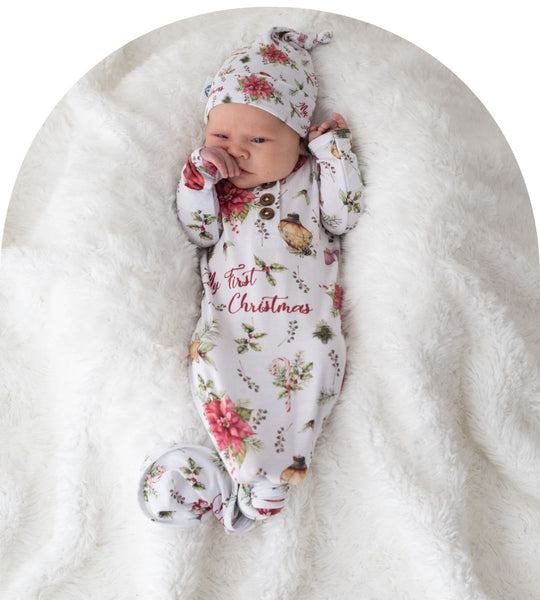 Kute Cuddles – Baby Knotted Gown