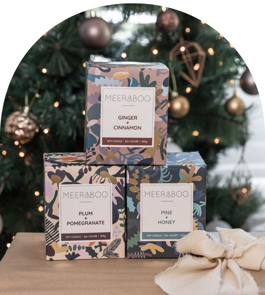 Meeraboo Christmas Candle Collection