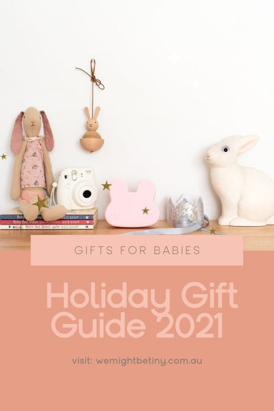 We Might Be Tiny Holiday Gift Guide - Gifts for Babies