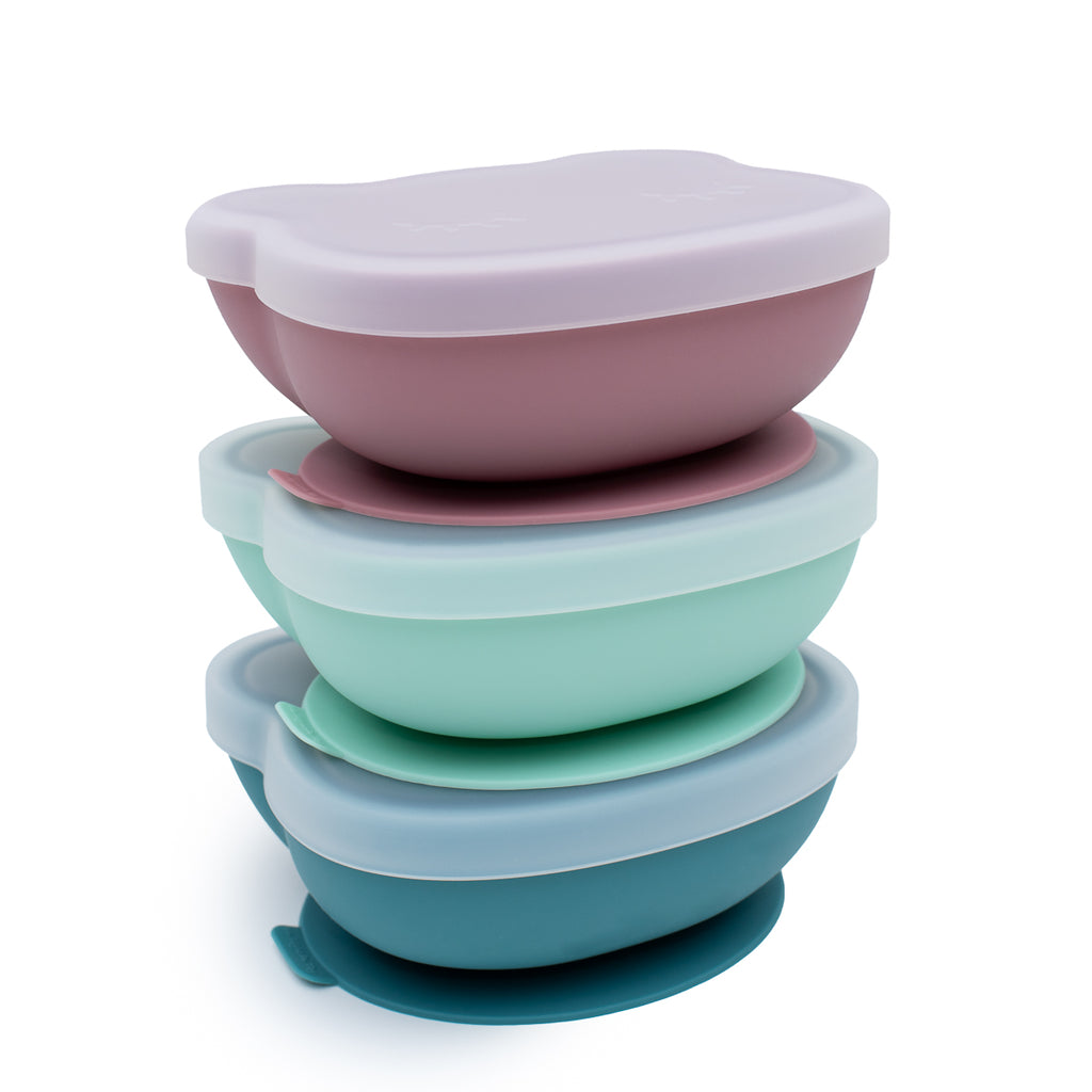 Silicone Suction Bowl - Stackable in Fridge