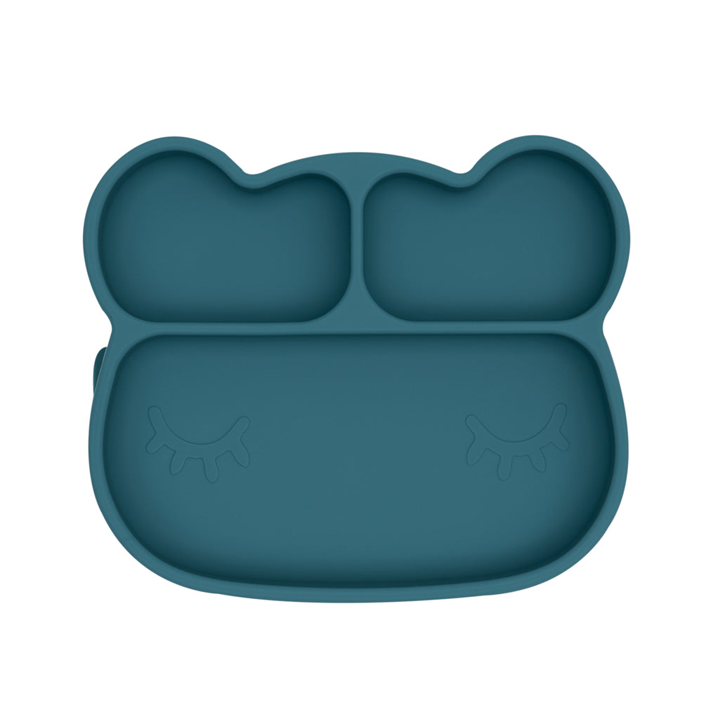 Bear suction plate for toddlers
