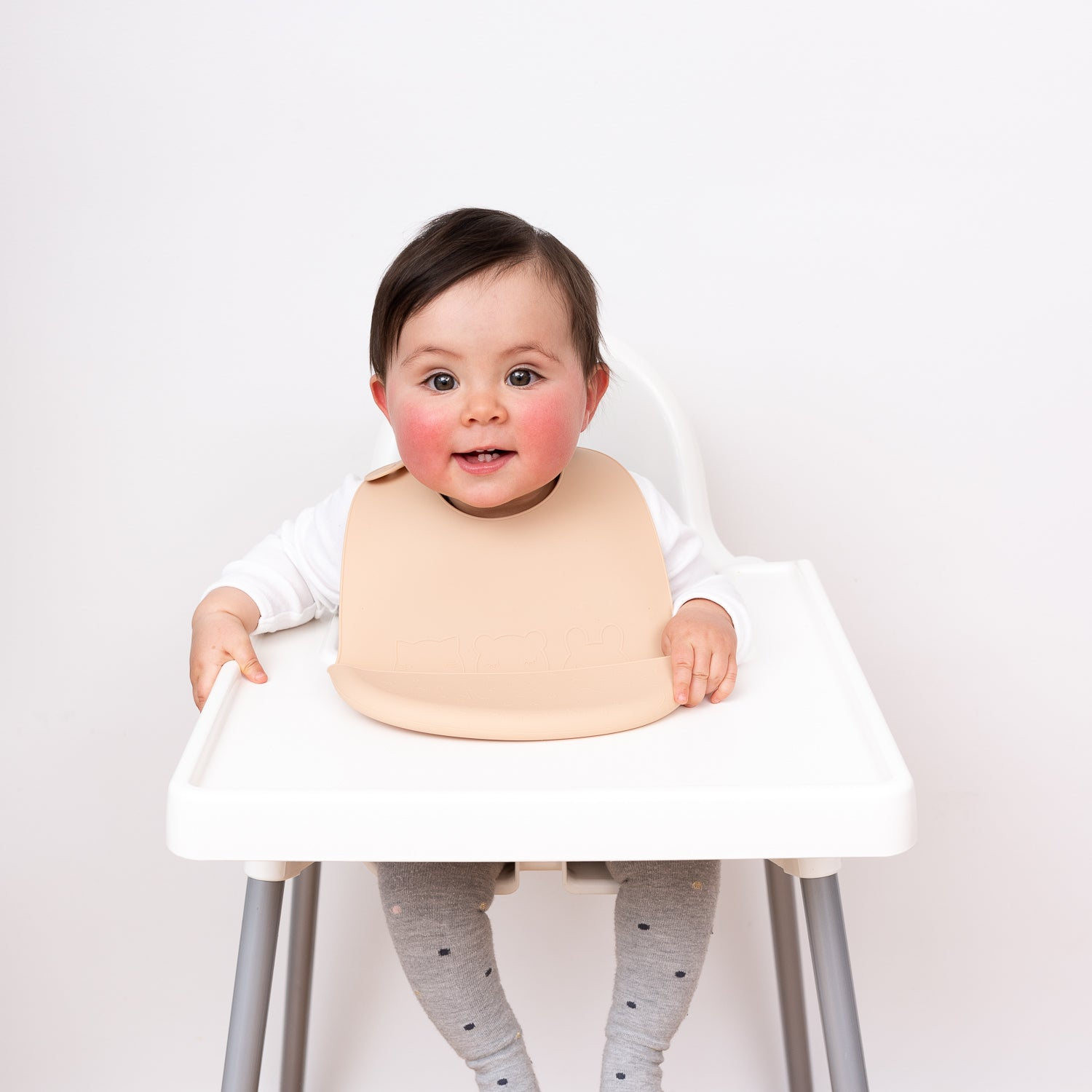 Catchie Bibs™ - Sage + Yellow