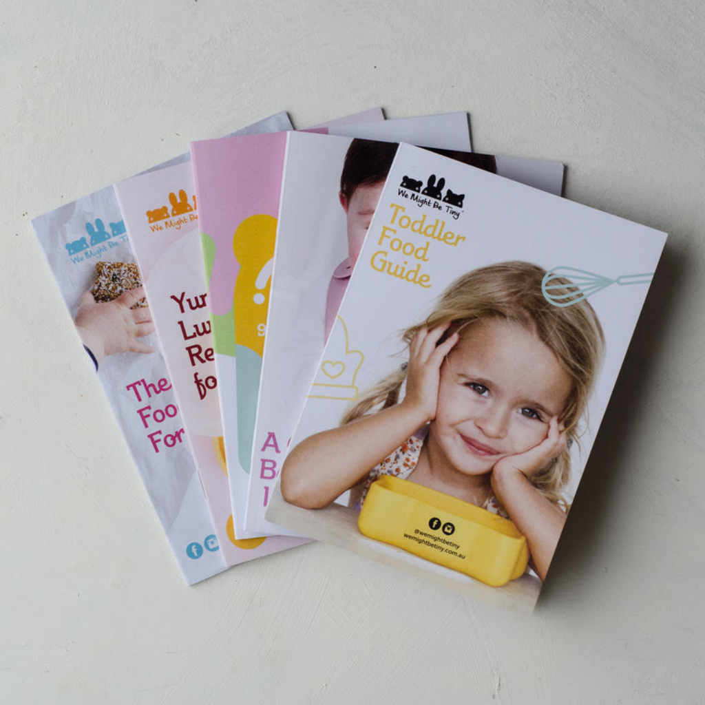 Baby Led Weaning Guide - A5 Booklet