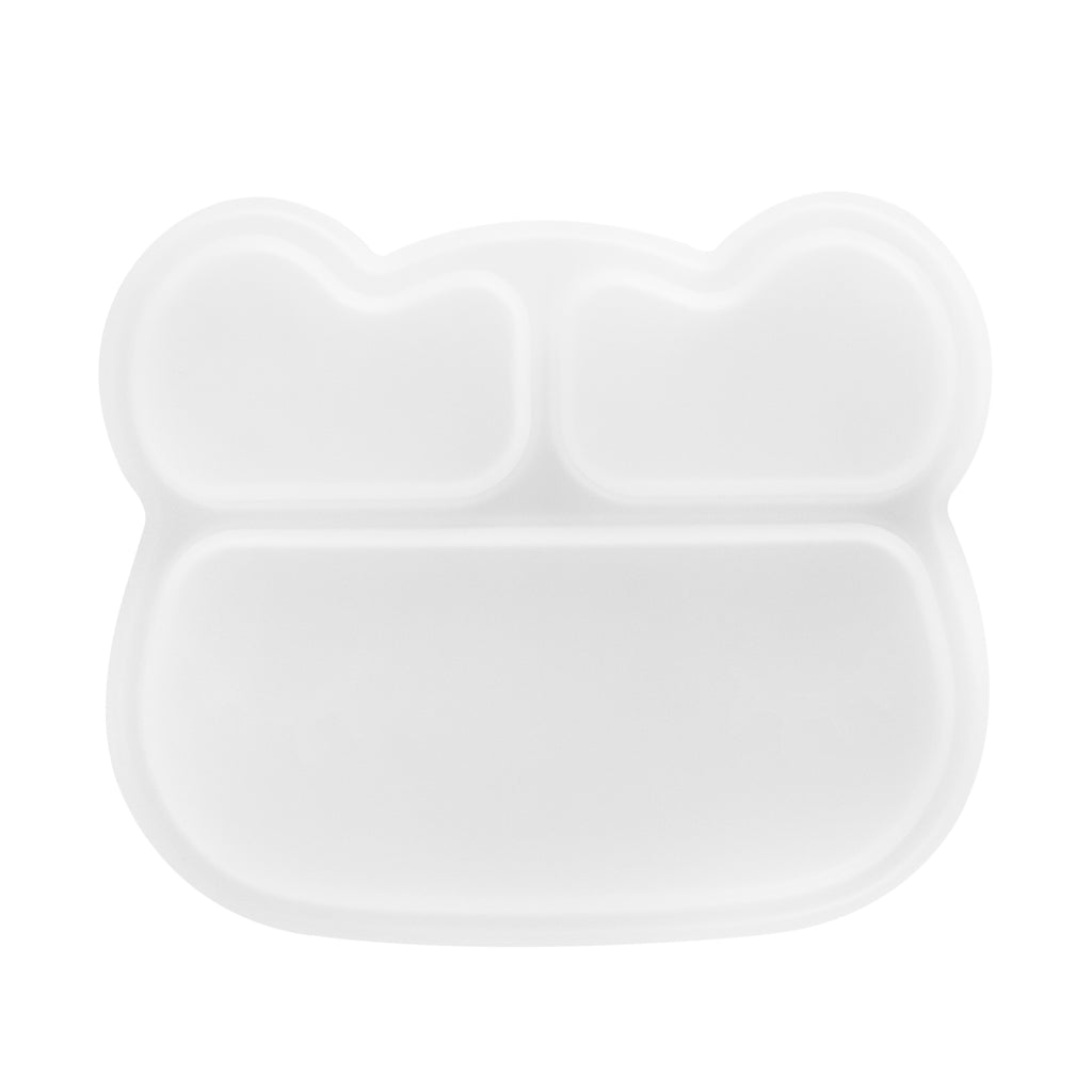 Bear Stickie Plate Lid
