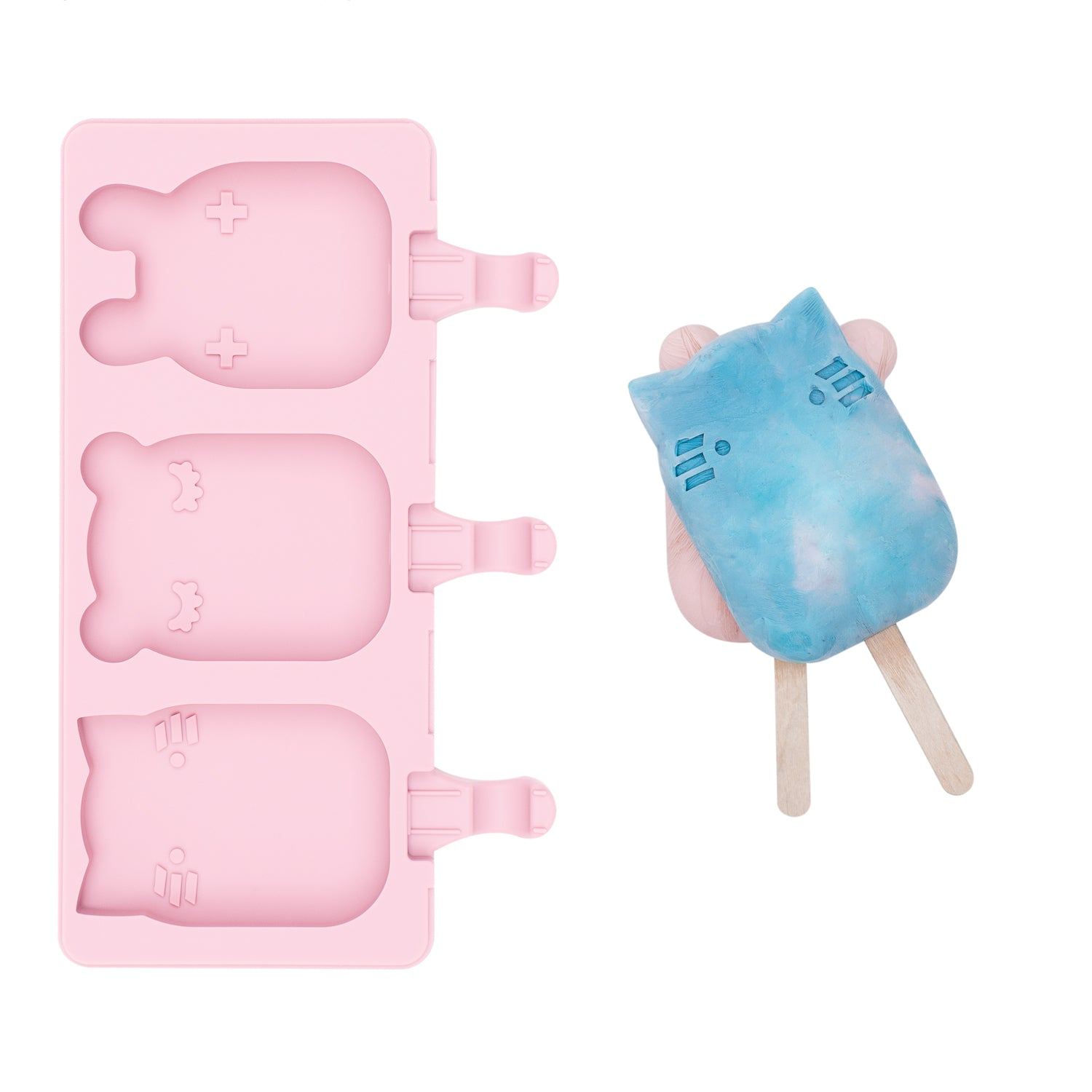 Icy pole Mould - Powder Pink